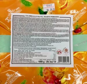 Colomba Fantasia di Frutta - Albertengo Panettoni (CN)