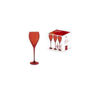 H&H Confezione 6 Calici In Vetro Aria Rouge Vino Cl28 Arredo Tavola