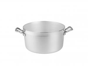 AGNELLI Casseruola alluminio alta family 2 manici cm24 Pentole Cucina