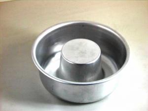 ITALO OTTINETTI Stampo alluminio basso con tubo senza fondo cm22 Pasticceria