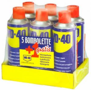 Lubrificante Spray Wd-40 Confezione Pz 6 Ml 400 Colori