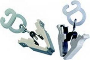 Set 10 Pinzetta Plastica Con Boxerino Per Tende Pz 18 Minuterie Metalliche Master Hobby