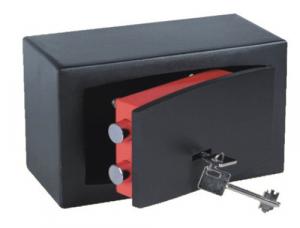 MAURER Casseforte A Mobile Con Chiave 8 Mm Cm 22X13X11 Ferramenta Sicurezza
