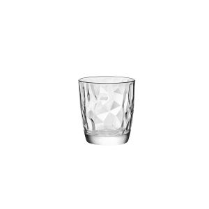 BORMIOLI ROCCO Set 6 Bicchieri Vetro Diamond Dof Trasparente 38.5 Arredo Tavola