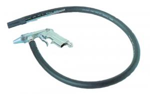 Pistola Sabbiatura Con Tubo Gomma Mt 1,20 Utensileria Ad Aria Compressa