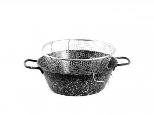 LAR Friggitrice quflex riv/qz cm30 con griglia Pentole e preparazione cucina