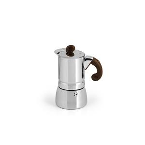HABI Caffettiera inox lili caff?¿ oro tazze 2 fondo a induzione Moka Guarnizioni