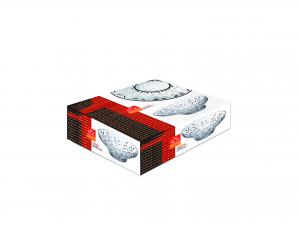 RCR Centrotavola Vetro Laurus Cm30.5 Arredo Tavola