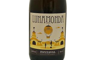 Birra artigianale Lunamonda Blanche Mezzavia (CL.75-Vol.4,8%)