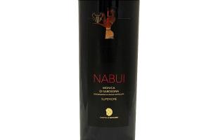 Vino Rosso sardo Monica di Sardegna NABUI DOC Superiore 2015