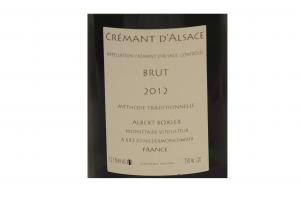 Spumante Cremant d'Alsace Brut 2014