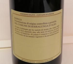 Barolo DOCG 2016 Del Comune di Serralunga D'Alba
