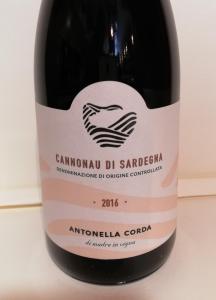 Cannonau di Sardegna 2018 - Antonella Corda