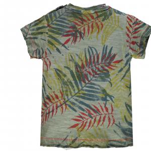 T-shirt baby jersey stampata 3-24 mesi