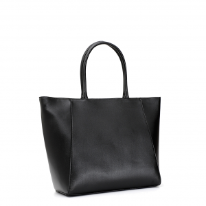 SHOPPING BAG CON ACCESSORIO A LUCCHETTO
