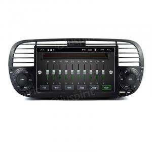 ANDROID 10 autoradio navigatore per Fiat 500 Fiat Abarth 500 2007-2015 GPS USB WI-FI Bluetooth Mirrorlink