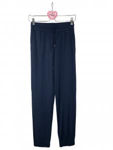 pantalone elastico in fondo