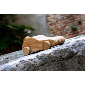 Macchinina in legno; Pieces of Venice