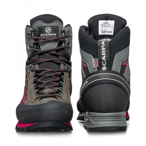 MARMOLADA TREK HD WOMAN   -  Backpacking boots   -   Shark-Cherry / Last Wide