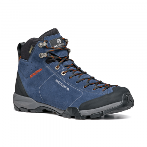 MOJITO HIKE GTX   -   Fast hikes on mixed terrains, waterproof   -   Blue Cosmo-Tonic / Last Wide