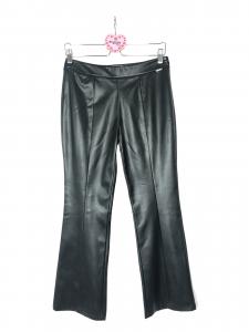 Pantalone trombetta ecopelle