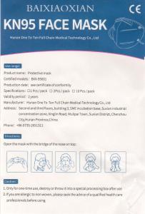 Mascherina KN95 (FFP2) CONFEZIONE 2 PEZZI