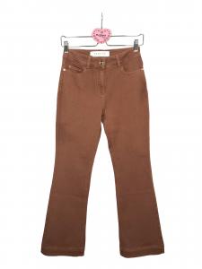 Pantalone denim trombetta