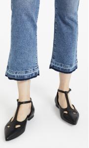 Jeans orlo sfrangiato
