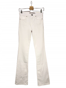 Jeans flare bianco