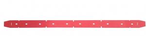 2180SR (60 CM)  Gomma Tergipavimento ANTERIORE per lavapavimenti VLX