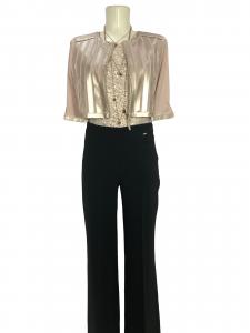 Pantalone elegante a zampa