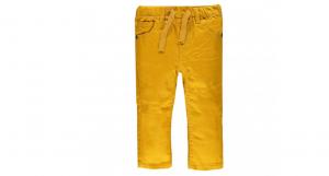 Pantalone color elasticizzato 6-24 mesi