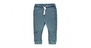 Pantalone felpina acid wash 3-24 mesi