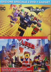 Lego Batman + Lego the Movie - Edizione Speciale 2 film + gadget (dvd)