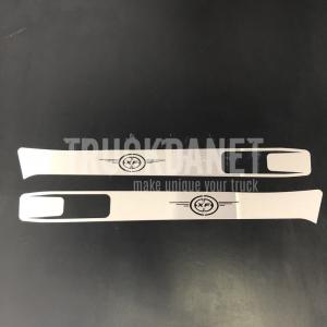 Cornici luce carena in acciaio inox ideati per DAF XF 105