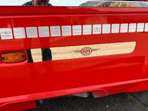DAF Cornice carena lato passeggero con decorazione XF