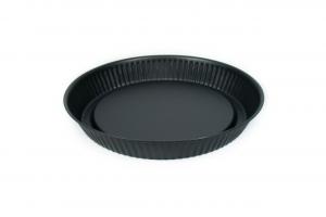 Stampo crostata in acciaio nero