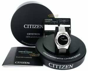 Citizen Crystron Prototype Special Edition BM8540-85L