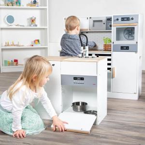 Cucina per bambini in legno modulare XL