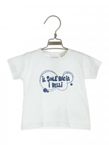 t-shirt cotone con stampa 3-36 mesi
