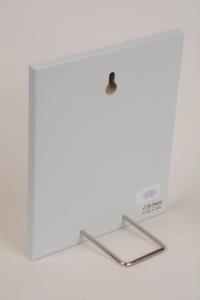 Quadretto Regalo Angelo della Serenità 15x12 cm Legno Laccato