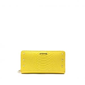 Portafoglio giallo Cromia