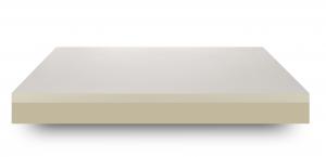Materasso Memory Foam alto 25 cm  Massaggiante Ortopedico Fodera Antiacaro Sfoderabile Traspirante Lastra Waterfoam Schiuma Ecologica 7 Zone Ergonomico + Cuscini Letto in Memory Foam  in Omaggio | MARE PLUS 6 CM
