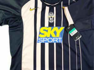 2004-05 Juventus Maglia Away #17 Trezeguet XL *Nuova