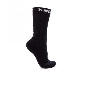 Kappa Calzini 3pz Black Unisex