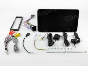 ANDROID 10 autoradio 1 DIN navigatore universale 10.1 pollici GPS USB SD WI-FI Bluetooth Mirrorlink