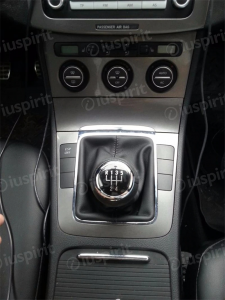 Pomello cambio 5 marce per VW Passat B6 2005-2011 cuffia leva cambio 5 marce