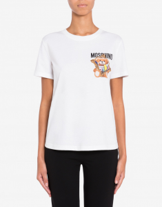 T-shirt Frame Teddy Bear MOSCHINO