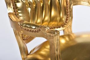 Poltrona barocco oro