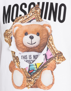 Felpa in cotone Frame Teddy Bear